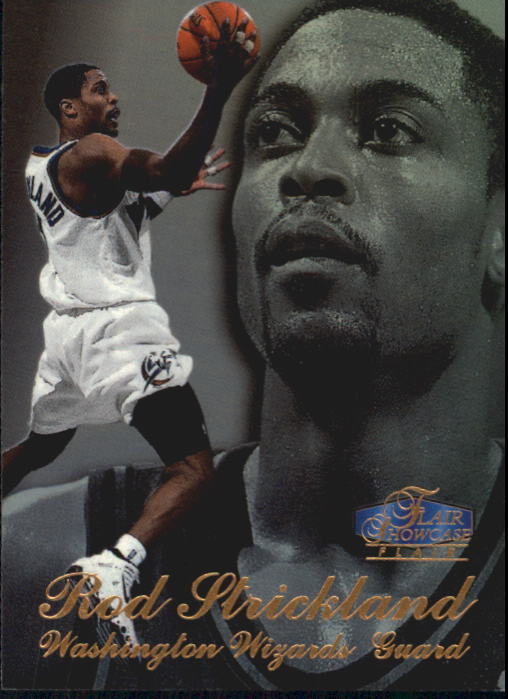 1997-98 Flair Showcase Row 3 #78 Rod Strickland