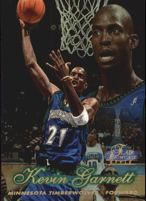 1997-98 Flair Showcase Row 2 #4 Kevin Garnett