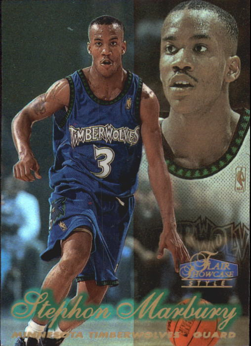 1997-98 Flair Showcase Row 2 #15 Stephon Marbury