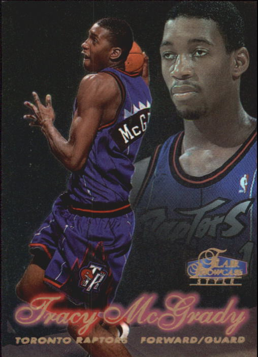 1997-98 Flair Showcase Row 2 #21 Tracy McGrady