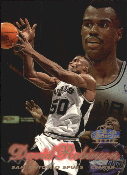 1997-98 Flair Showcase Row 2 #27 David Robinson