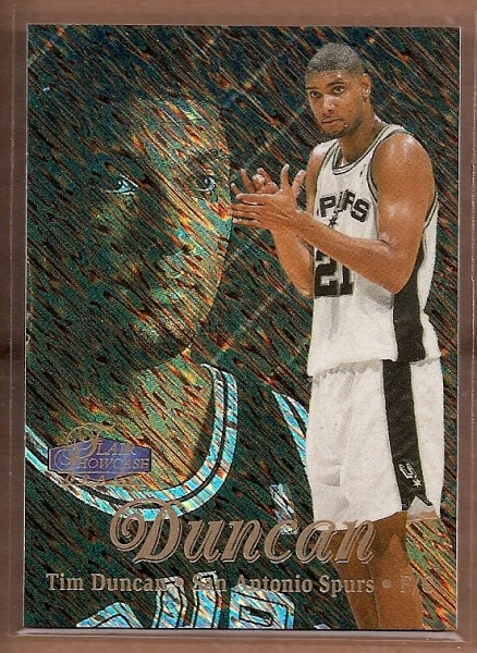 1997-98 Flair Showcase Row 1 #5 Tim Duncan
