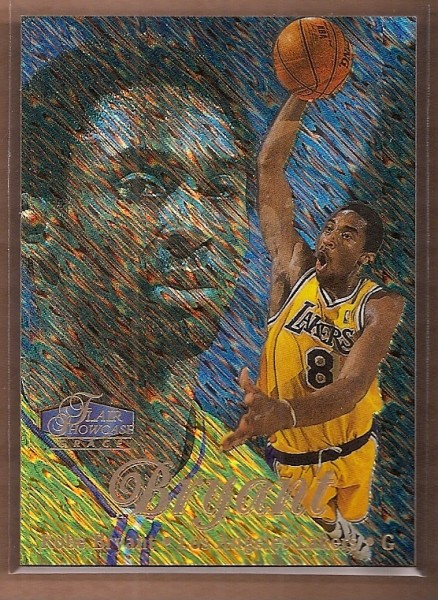 1997-98 Flair Showcase Row 1 #18 Kobe Bryant
