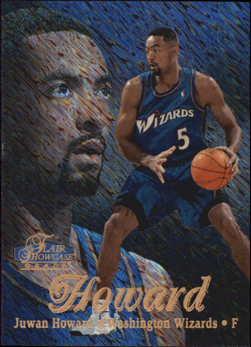 1997-98 Flair Showcase Row 1 #64 Juwan Howard