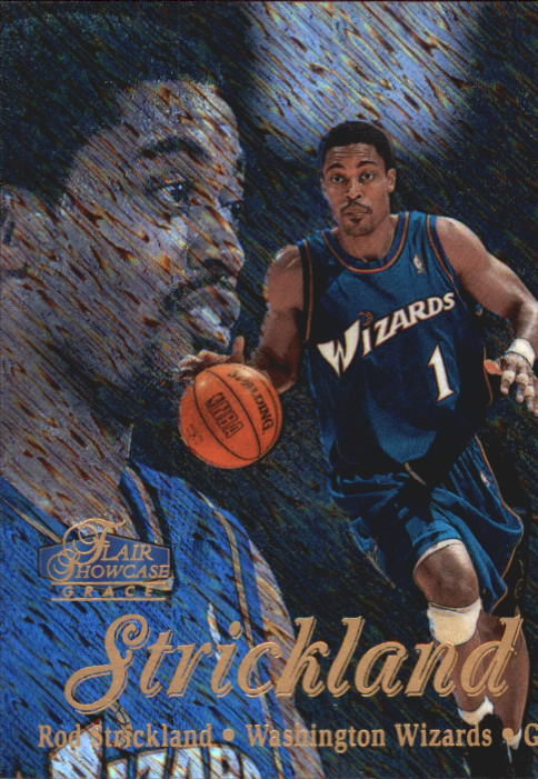 1997-98 Flair Showcase Row 1 #78 Rod Strickland