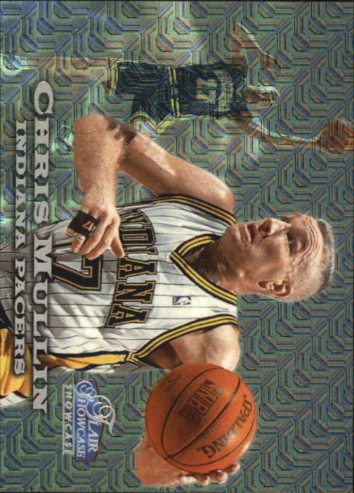1997-98 Flair Showcase Row 0 #44 Chris Mullin