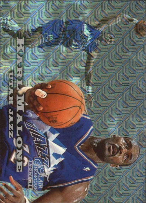 1997-98 Flair Showcase Row 0 #56 Karl Malone