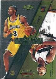 1997-98 Bowman's Best Mirror Image #MI4 Scottie Pippen/Keith Van Horn/Kobe Bryant/Cedric Ceballos
