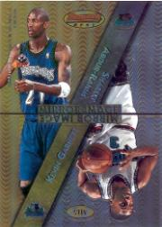 1997-98 Bowman's Best Mirror Image #MI5 Grant Hill/Tracy McGrady/Shareef Abdur-Rahim/Kevin Garnett