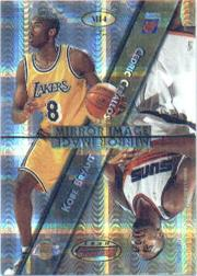 1997-98 Bowman's Best Mirror Image Atomic Refractors #MI4 Scottie Pippen/Keith Van Horn/Kobe Bryant/Cedric Ceballos