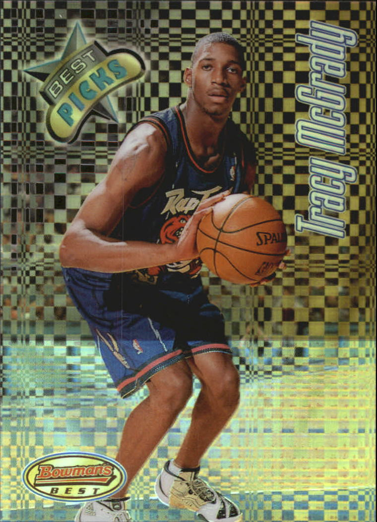 1997-98 Bowman's Best Picks Refractors #BP4 Tracy McGrady