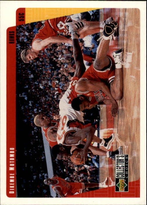 1997-98 Collector's Choice #2 Dikembe Mutombo