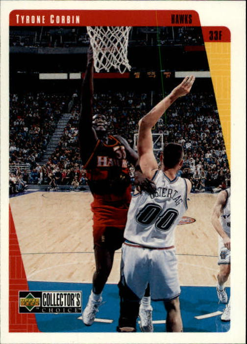 1997-98 Collector's Choice #5 Tyrone Corbin