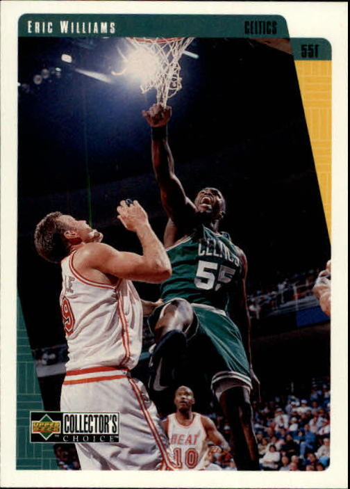 1997-98 Collector's Choice #7 Eric Williams