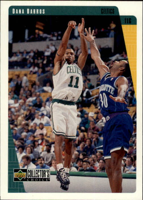1997-98 Collector's Choice #8 Dana Barros