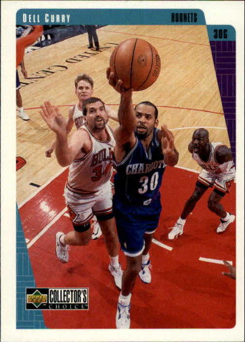 1997-98 Collector's Choice #12 Dell Curry