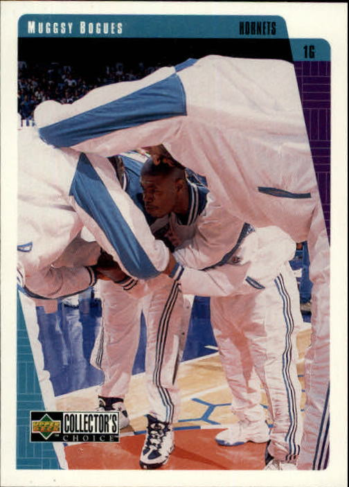 1997-98 Collector's Choice #13 Muggsy Bogues