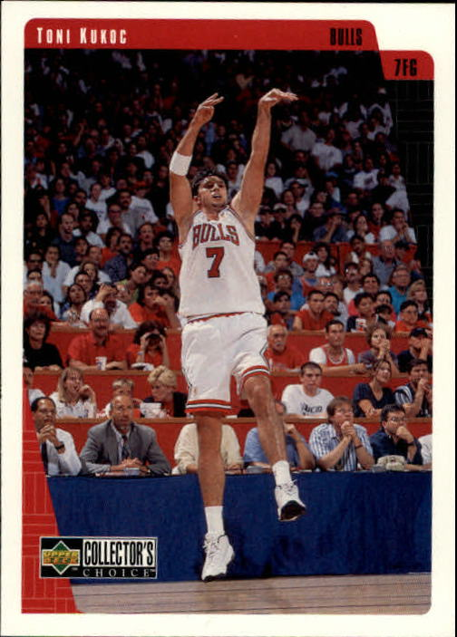 1997-98 Collector's Choice #19 Toni Kukoc