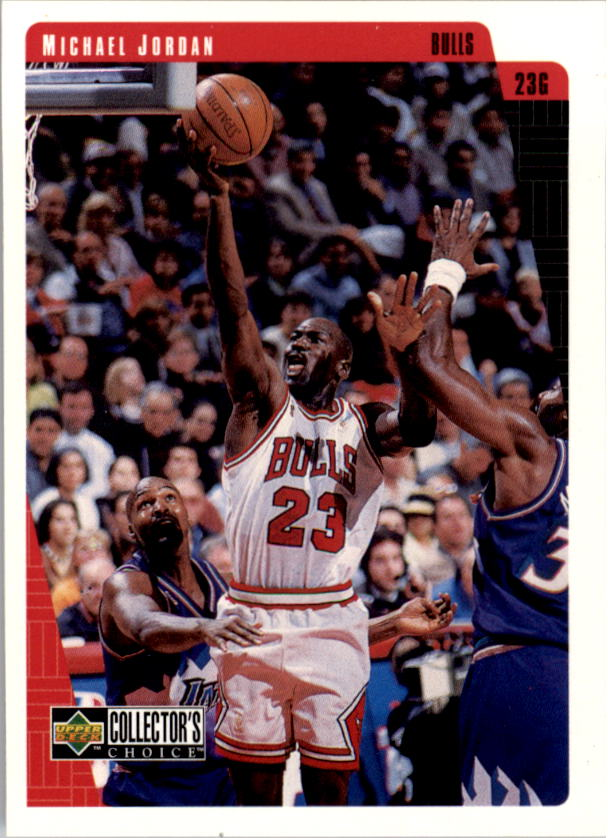 1997-98 Collector's Choice #23 Michael Jordan