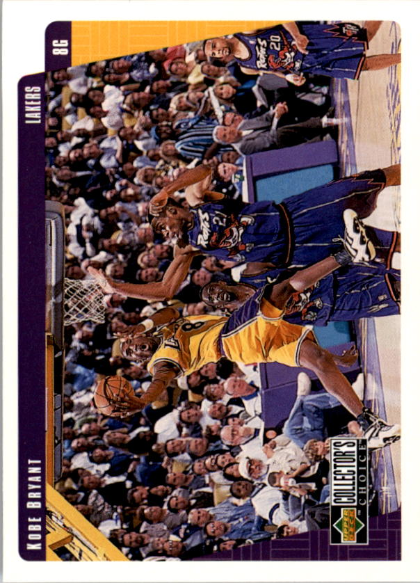 1997-98 Collector's Choice #64 Kobe Bryant