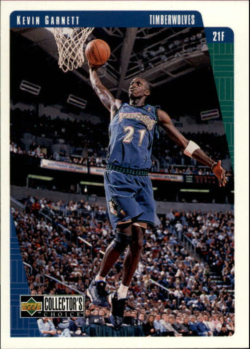 1997-98 Collector's Choice #80 Kevin Garnett