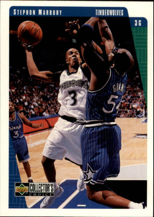 1997-98 Collector's Choice #282 Stephon Marbury