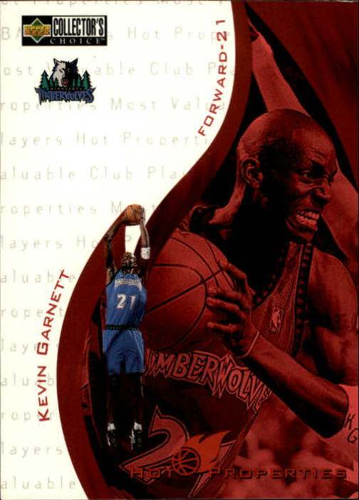 1997-98 Collector's Choice #371 Kevin Garnett HP
