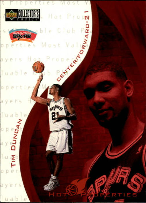 1997-98 Collector's Choice #379 Tim Duncan HP