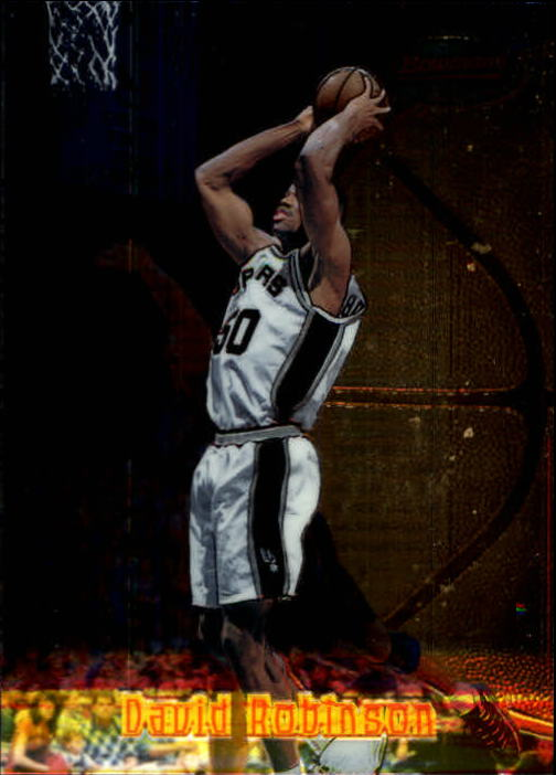 1997-98 Bowman's Best #44 David Robinson
