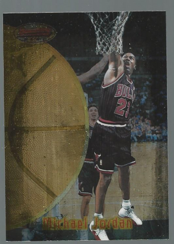 1997-98 Bowman's Best #60 Michael Jordan