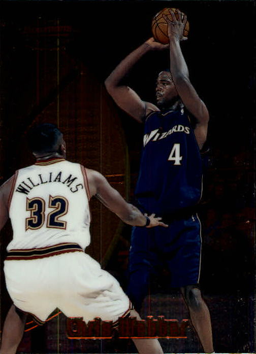 1997-98 Bowman's Best #81 Chris Webber