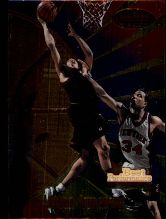 1997-98 Bowman's Best #98 Allen Iverson BP