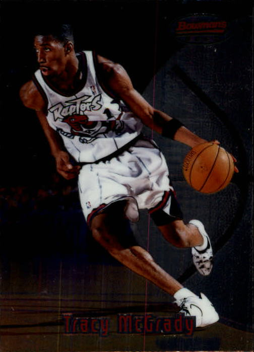 1997-98 Bowman's Best #111 Tracy McGrady RC
