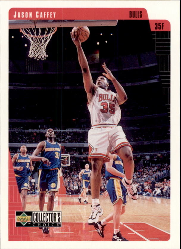 1997-98 Bulls Upper Deck #CB3 Jason Caffey