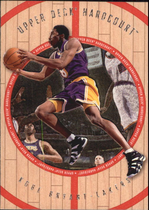 1998 Upper Deck Hardcourt #1 Kobe Bryant