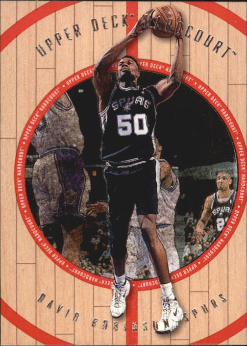 1998 Upper Deck Hardcourt #5 David Robinson