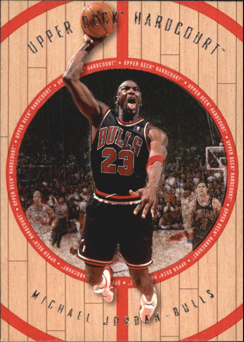 1998 Upper Deck Hardcourt #23 Michael Jordan