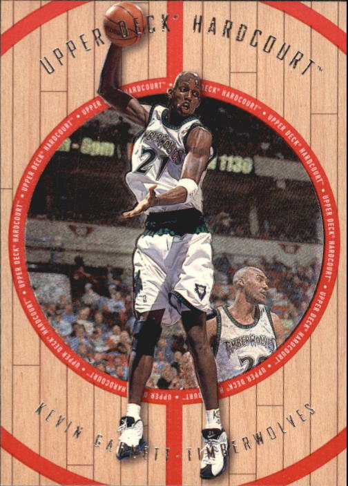 1998 Upper Deck Hardcourt #34 Kevin Garnett