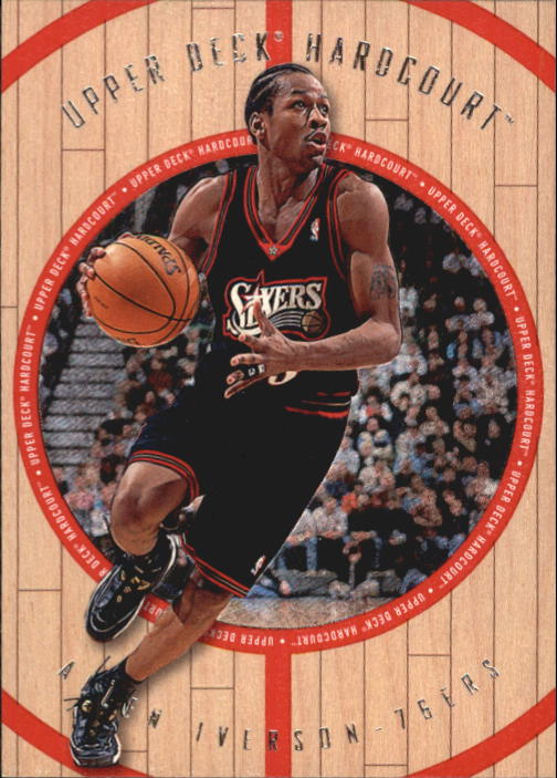 1998 Upper Deck Hardcourt #40 Allen Iverson