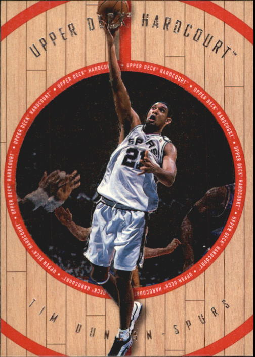1998 Upper Deck Hardcourt #63 Tim Duncan