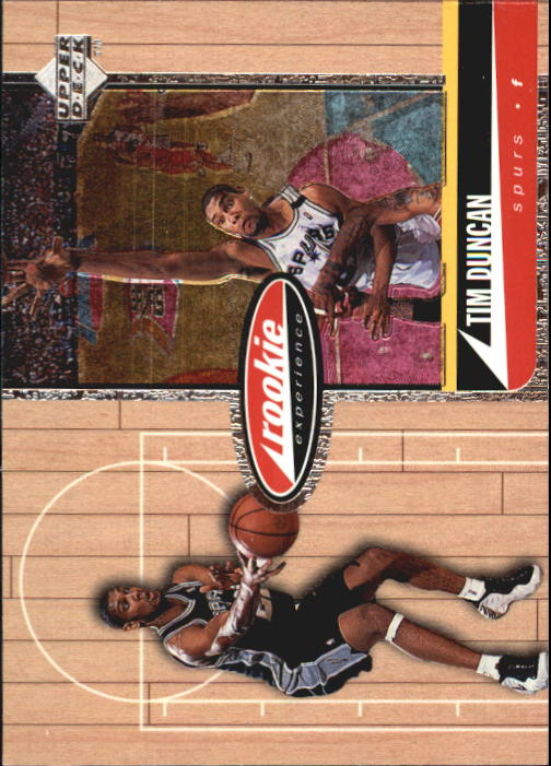 1998 Upper Deck Hardcourt #71 Tim Duncan RE