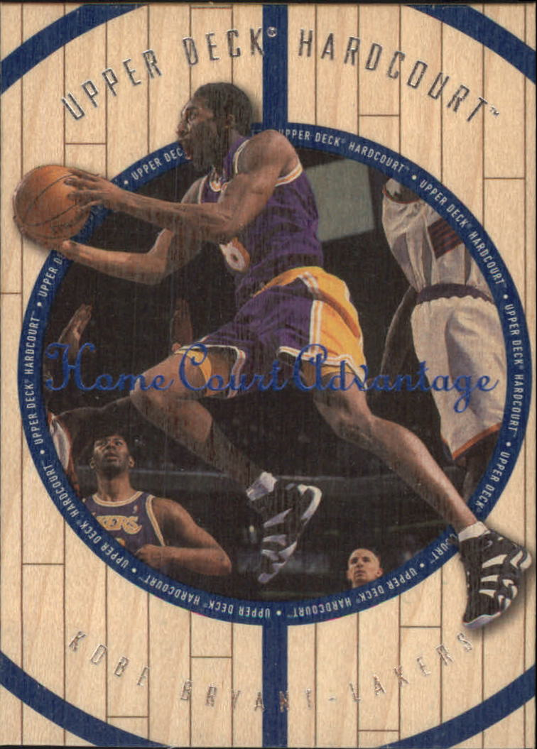 1998 Upper Deck Hardcourt Home Court Advantage #1 Kobe Bryant