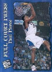 1998 Press Pass Authentics Full Court Press #FP1 Paul Pierce