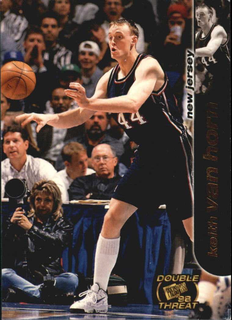 1998 Press Pass Double Threat #36 Keith Van Horn