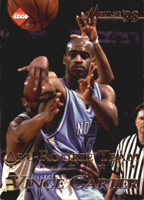 1998 Collector's Edge Impulse #45 Vince Carter AR