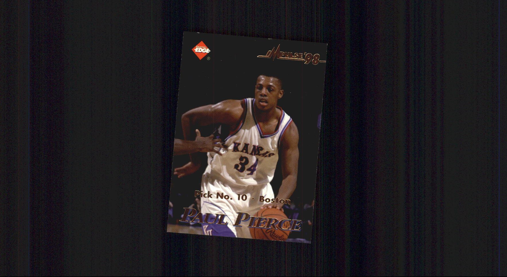 1998 Collector's Edge Impulse #52 Paul Pierce/Scottie Pippen