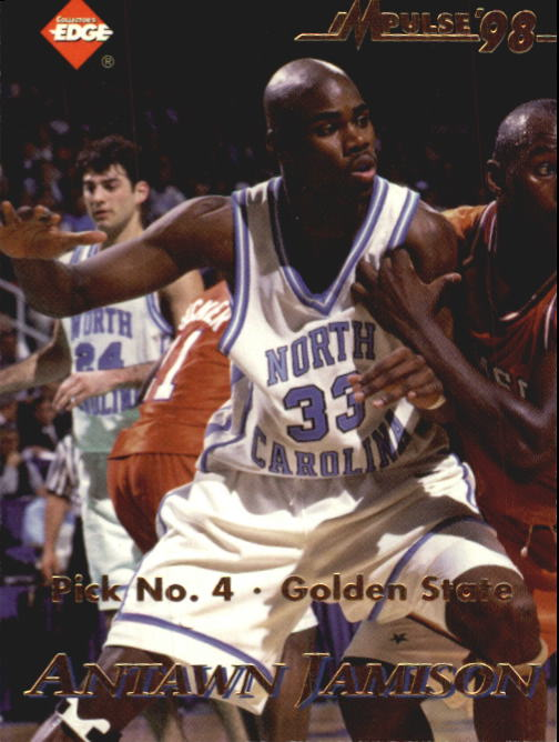 1998 Collector's Edge Impulse #53 Antawn Jamison/Stephon Marbury