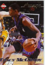 1998 Collector's Edge Impulse #79 Jeff Sheppard/Tracy McGrady