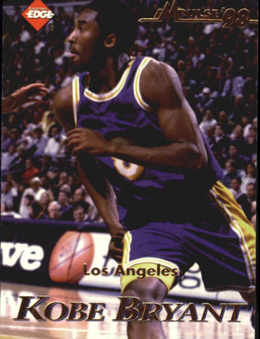 1998 Collector's Edge Impulse #81 Felipe Lopez/Kobe Bryant