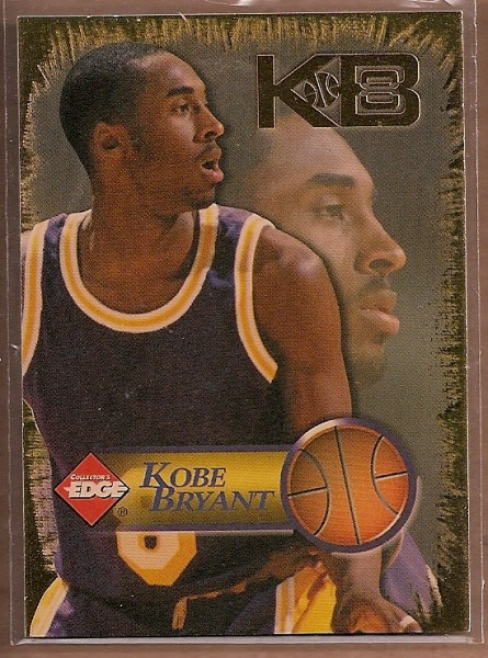1998 Collector's Edge Impulse KB8 Gold #3 Kobe Bryant